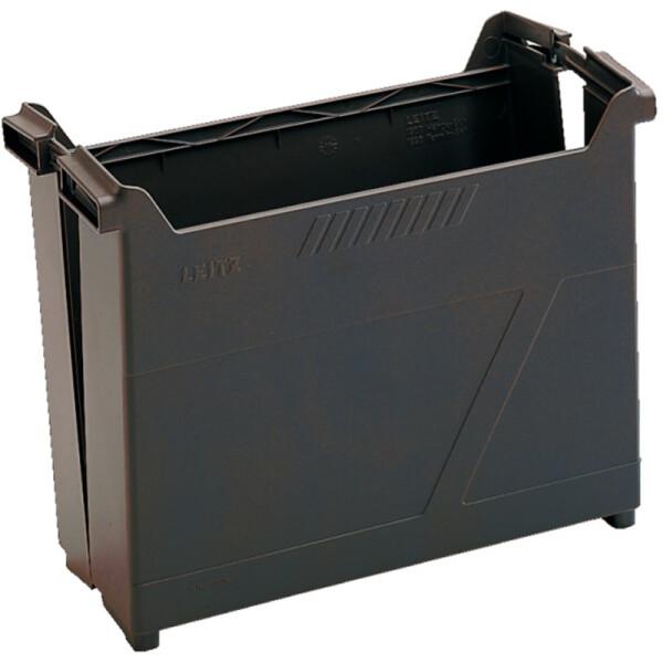 Hängemappen Box Leitz Alpha 1907 - 130 x 265 x 345 mm schwarz für 25 Mappen Hängezug