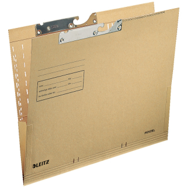 Pendeltasche Leitz 2116 - A4 260 x 318 mm naturbraun Natronkarton 250 g/m²
