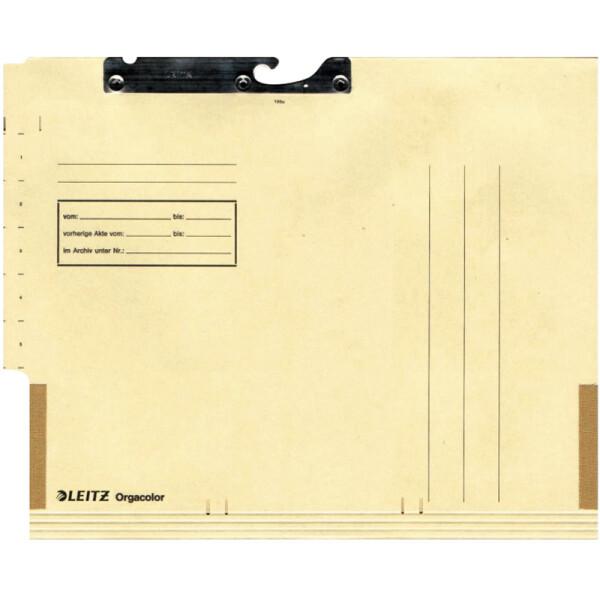 Pendeltasche Leitz Orgacolor 2136 - A4 260 x 323 mm chamois Kraftkarton 260 g/m²