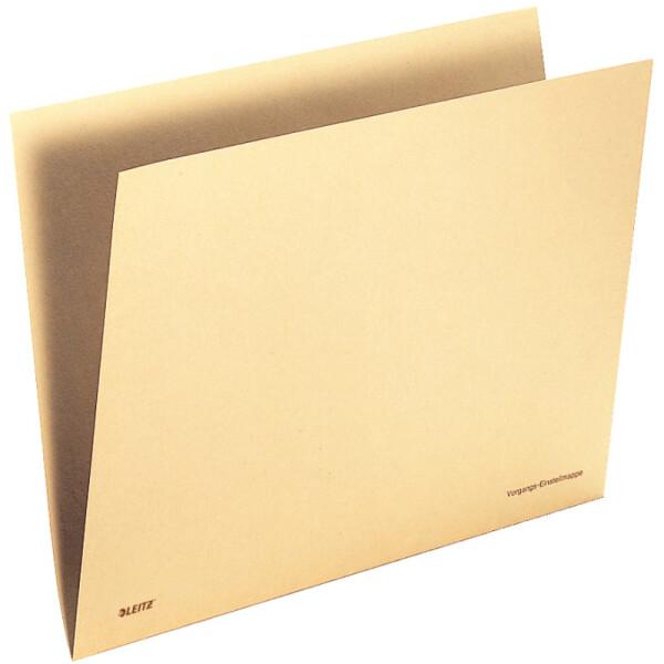 Einstellmappe Leitz Orgacolor 2443 - 215/225 x 302 mm chamois füt OC-Kennzeichnungssystem Tauenpapier 100 g/qm² Pckg/100