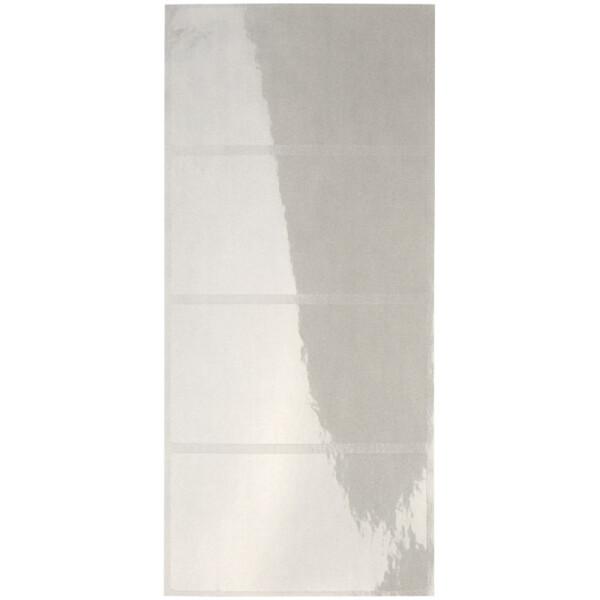 Schutzfolienschild Leitz Orgacolor 6641 - auf Streifen 72 x 39 mm transparent selbstklebend Pckg/100