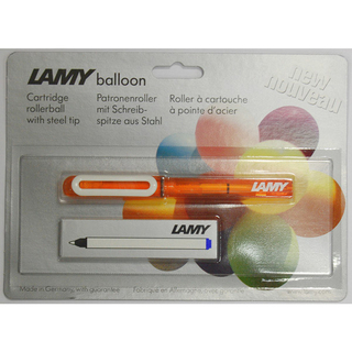 Tintenroller LAMY ballon M Mine-Blau Mod 311 Orange Transluzent Mine M63
