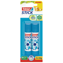 Klebestift tesa® Stick ecoLogo Stic/10 g 2er-Set/20 g