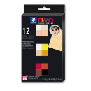 Modelliermasse STAEDTLER 8073 C12-1 FIMO professional...