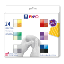Modelliermasse Staedtler FIMO effect 8013C24-1 - farbig...