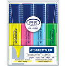 Textmarker STAEDTLER 364 WP4 Textsurfer Classic Farbig...