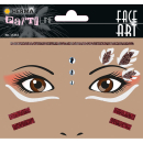 Gesichtstattoofolie HERMA 15316 FACE ART Native Americans...
