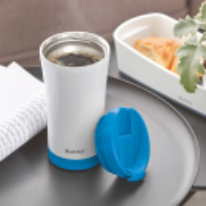 Thermobecher LEITZ 90140016 WOW 380 ml PP Lebensmittelecht und BPA-frei