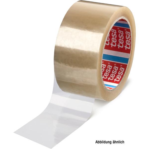 Abdeckband tesa tesafilm 4129 - 12 mm x 66 m transparent Polyester-Klebeband für Industrie/Gewerbe-Anwendungen