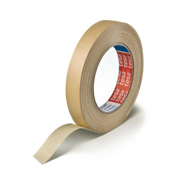 Abdeckband tesa tesakrepp 4302 - 19 mm x 50 m chamois Kreppband für Industrie/Gewerbe-Anwendungen