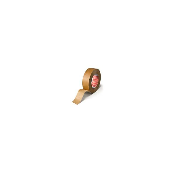 Abdeckband tesa tesakrepp 4309 - 25 mm x 50 m hellbraun Kreppband für Industrie/Gewerbe-Anwendungen