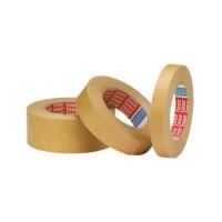 Abdeckband tesa tesakrepp 4341 - 19 mm x 50 m hellbraun Kreppband für Industrie/Gewerbe-Anwendungen