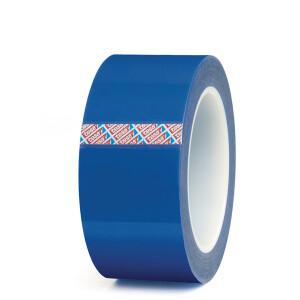 Abdeckband tesa 50650 - 66 mm x 25 m blau PET Silikonband für Industrie/Gewerbe-Anwendungen