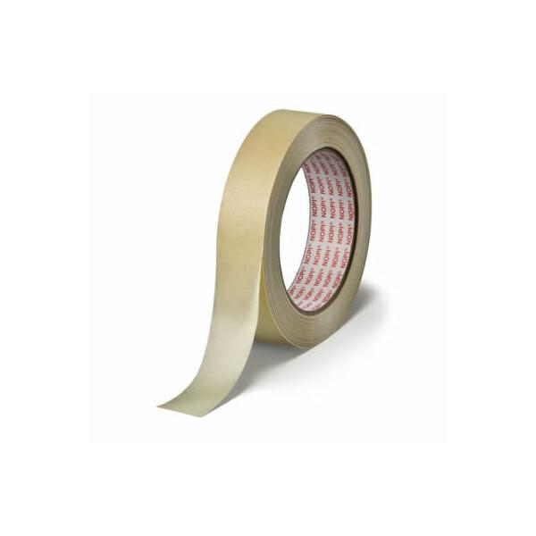 Abdeckband tesa NOPI Allzweckkrepp 4349 - 30 mm x 50 m hellbeige Kreppband für Industrie/Gewerbe-Anwendungen