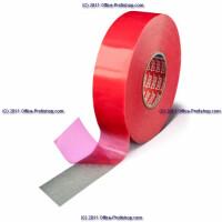 Montagedoppelklebeband tesa tesafix 4914 - 6 mm x 50 m farblos Vliesband für Industrie/Gewerbe-Anwendungen