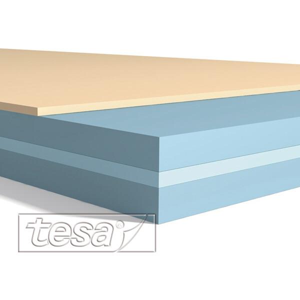 Montagedoppelklebeband tesa tesafix 4972 - 12 mm x 100 m farblos Folienband für Industrie/Gewerbe-Anwendungen
