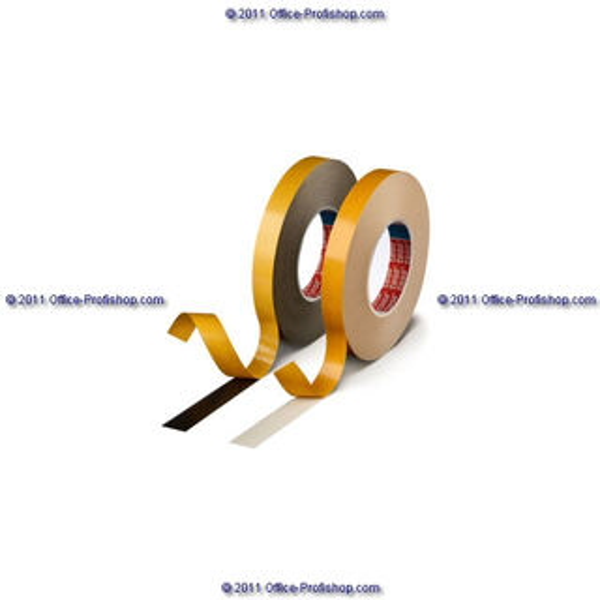 Montagedoppelklebeband tesa tesafix 62936 - 19 mm x 25 m weiß PE-Schaumband für Industrie/Gewerbe-Anwendungen