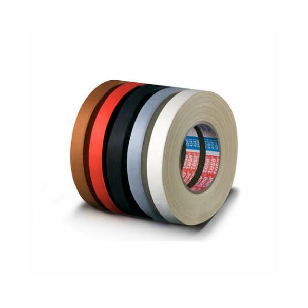 Gewebeklebeband tesa tesaband 4541 - 50 mm x 50 m schwarz Flexband für Industrie/Gewerbe-Anwendungen