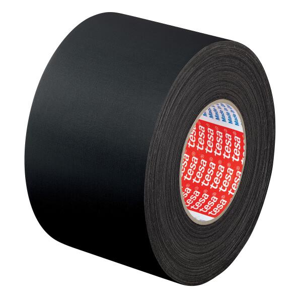 Gewebeklebeband tesa tesaband 4651 - 19 mm x 25 m schwarz für Industrie/Gewerbe-Anwendungen