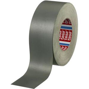 Gewebeklebeband tesa 4657 - 100 mm x 50 m grau für Industrie/Gewerbe-Anwendungen