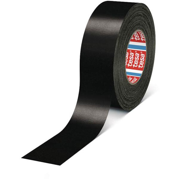 Gewebeklebeband tesa 4657 - 50 mm x 50 m schwarz für Industrie/Gewerbe-Anwendungen