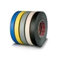 Gewebeklebeband tesa tesaband 4661 - 25 mm x 50 m schwarz kunststoffbeschichtetes Band für Industrie/Gewerbe-Anwendungen