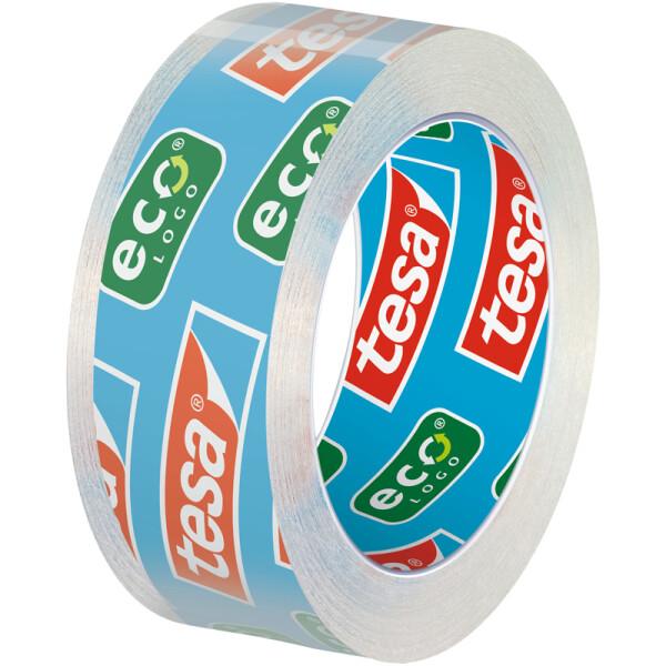 Klebefilm tesa tesafilm Eco & Clear 56997 - 15 mm x 10 m transparent für Privat/Endverbraucher-Anwendungen Pckg/3
