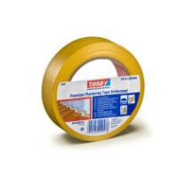 Putzband tesa Premium 4840 - 30 mm x 33 m gelb PVC-Klebeband für Industrie/Gewerbe-Anwendungen
