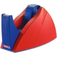 Klebefilm Tischabroller tesa Easy Cut Professional 57422 - bis 25 mm x 66 m rot/blau einzeln
