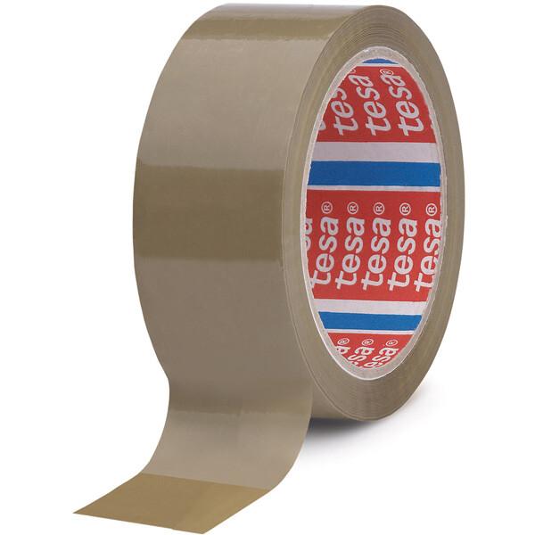 Verpackungsklebeband tesa tesapack 4089 - 48 mm x 1000 m chamois PP-Band für Industrie/Gewerbe-Anwendungen