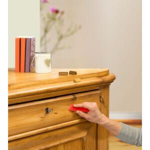 Holzbodenreparaturwachs edding 8902 - Buche mischbar 3er-Set