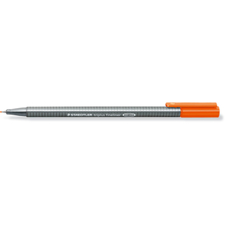 Fineliner STAEDTLER 334-4 triplus 334 Orange 0,30 mm