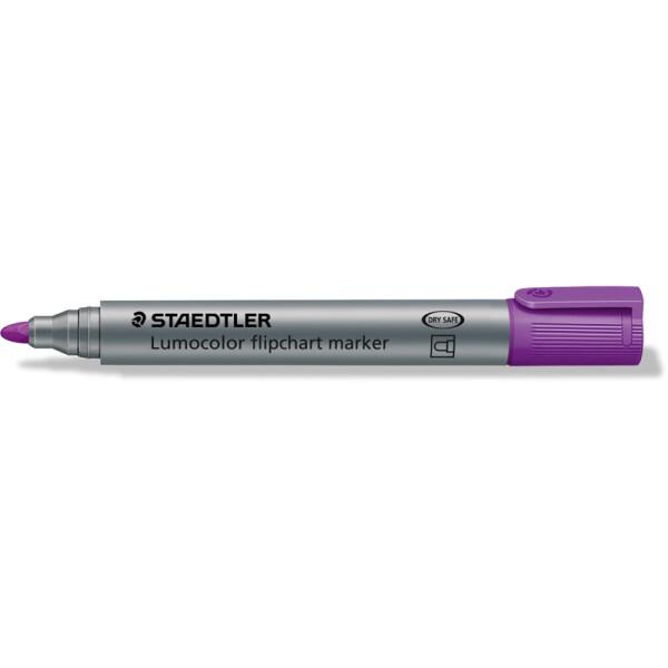 Flipchartmarker Staedtler Lumocolor 356 - violett 2 mm Rundspitze permanent nachfüllbar