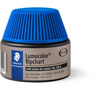 Flipchartmarker Nachfülltinte Staedtler Lumocolor 48856 - blau für Mod 356 permanent 30 ml