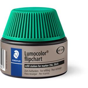 Flipchartmarker Nachfülltinte Staedtler Lumocolor 48856 - grün für Mod 356 permanent 30 ml