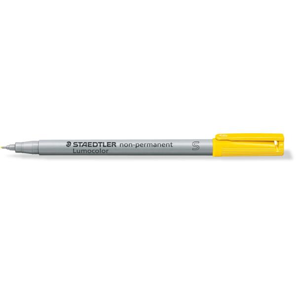 Folienschreiber Staedtler Lumocolor 311 - gelb 0,4 mm non-permanent nachfüllbar
