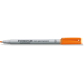 Folienschreiber STAEDTLER Lumocolor 312 Orange Non-Permanent 1-2,5 mm