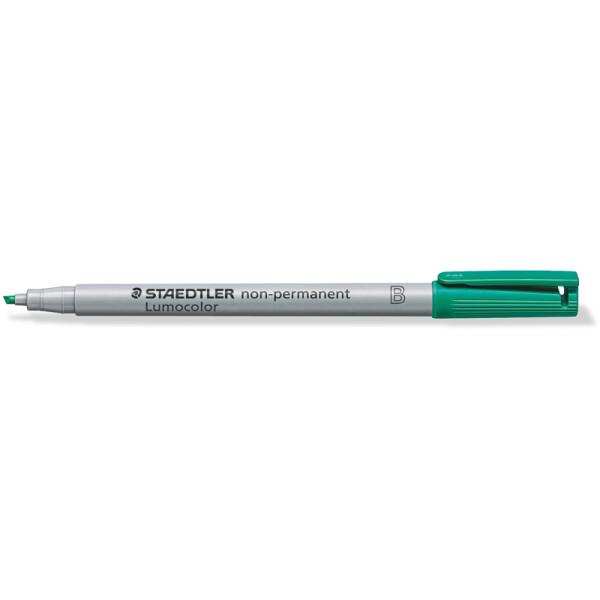 Folienschreiber Staedtler Lumocolor 312 - grün 1 - 2,5 mm non-permanent nachfüllbar