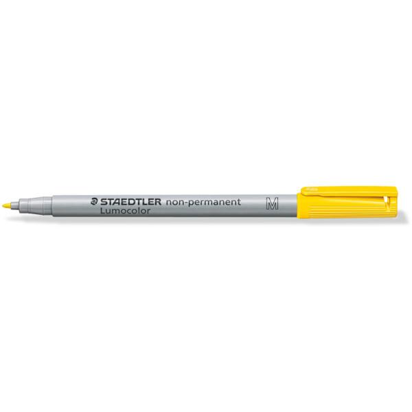 Folienschreiber Staedtler Lumocolor 315 - gelb 1 mm non-permanent nachfüllbar