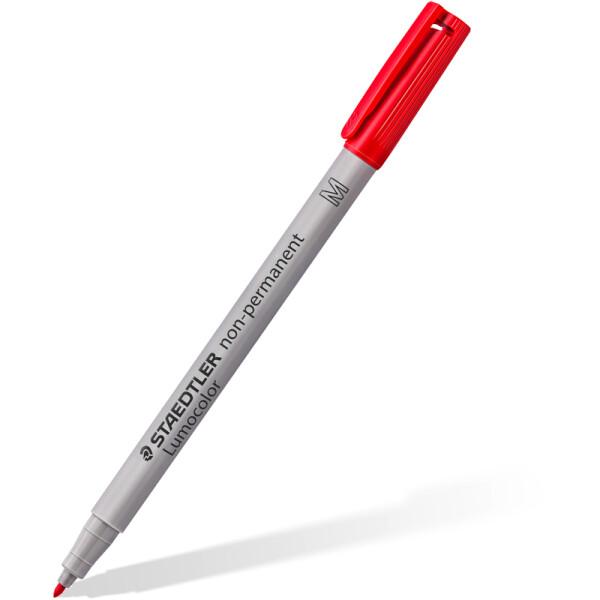 Folienschreiber Staedtler Lumocolor 315 - rot 1 mm non-permanent nachfüllbar