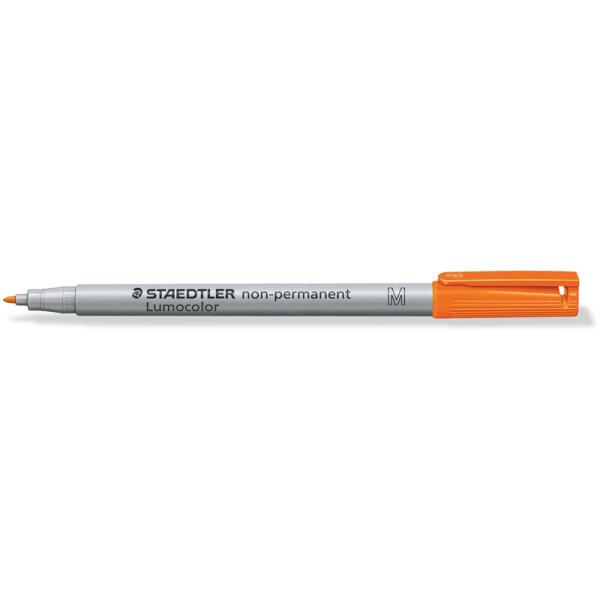 Folienschreiber Staedtler Lumocolor 315 - orange 1 mm non-permanent nachfüllbar
