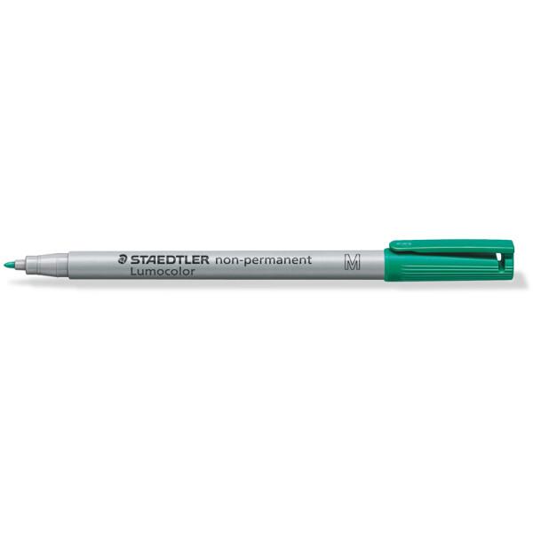 Folienschreiber Staedtler Lumocolor 315 - grün 1 mm non-permanent nachfüllbar