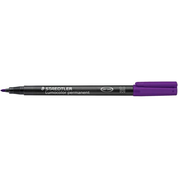 Folienschreiber Staedtler Lumocolor 317 - violett 1 mm permanent nachfüllbar