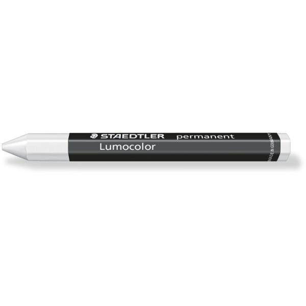 Universalkreide Staedtler Lumocolor 236-0 - weiß 12,0 mm