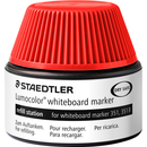 Whiteboardmarker Nachfülltinte Staedtler Lumocolor 48851 - rot für Mod 351/351B non-permanent 30 ml