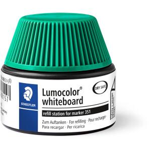 Whiteboardmarker Nachfülltinte Staedtler Lumocolor 48851 - grün für Mod 351/351B non-permanent 30 ml