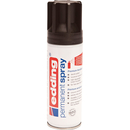 Permanent Spray edding 5200 - 9005 tiefschwarz 200 ml