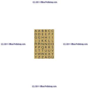 Buchstabenetiketten