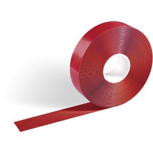 Warnband Durable Duraline strong 1725 - 50 mm x 30 m rot für Bodenmarkierungen